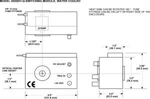 Qスイッチシステム 図面 5055EH drawing