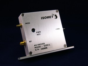 ISOMET AOM driver