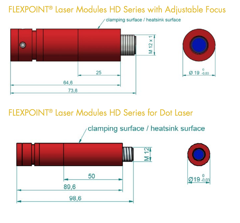 laser pointer module HD series