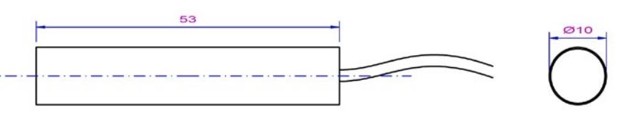 Laser pinter module Flexpoint-MV-pico