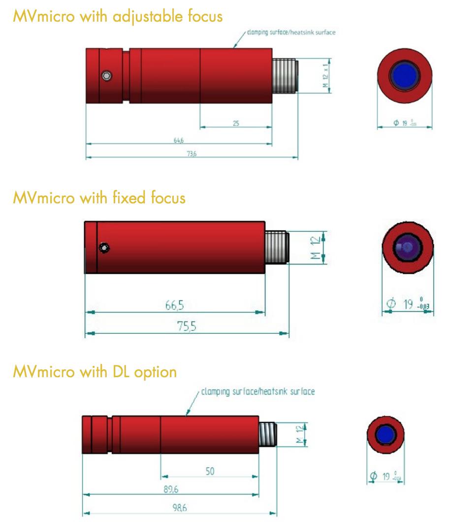 レーザーモジュール MVmicro