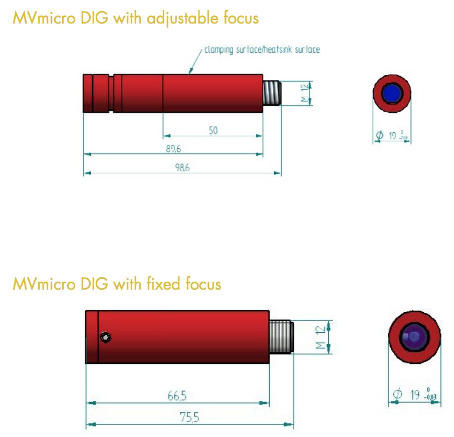 レーザーモジュール MVmicro DIG
